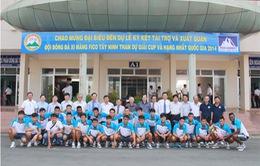 CLB Xi măng Fico Tây Ninh chuẩn bị cho mùa giải hạng Nhất