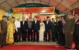 Chủ tịch nước gặp mặt các chiến sĩ cách mạng bị địch bắt, tù đày