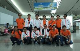 Đội tuyển Robocon Việt Nam trước giờ lên đường