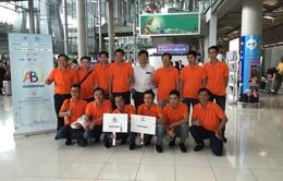 Đội tuyển Robocon Việt Nam sẵn sàng trước buổi thử sân tại ABU Robocon 2016