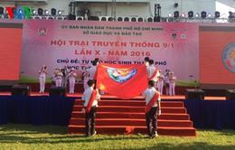 Hơn 5.000 học sinh TP.HCM tham gia Hội trại truyền thống