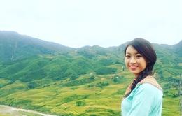 Hoa hậu Việt Nam 2016 Đỗ Mỹ Linh choáng ngợp trước vẻ đẹp của Sapa