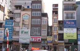 Hà Nội: Nhà siêu mỏng, siêu méo xuất hiện trên đường Trường Chinh