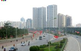 Thủ đô Hà Nội rực rỡ cờ hoa chào mừng Đại hội Đảng