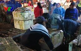 Lao động chợ Long Biên nhọc nhằn mưu sinh những ngày giáp Tết