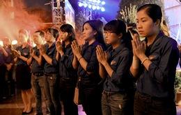 Tuổi trẻ VTV thắp nến tri ân các anh hùng liệt sĩ