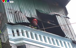 Hà Nội: Cháy nhà ở phố Trần Khát Chân, không có thiệt hại về người