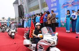 """Đoàn mô tô """"khủng"""" xuất hiện tại Lễ phát động và ra quân tháng Thanh niên 2016"""