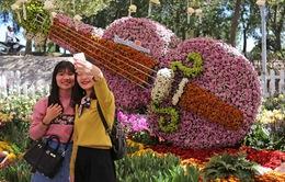 Bế mạc Festival hoa Đà Lạt 2015: 5 ngày, 50 vạn người thưởng hoa