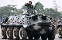 Ngắm cảnh tổng duyệt lễ xuất quân và diễn tập bảo vệ Đại hội Đảng