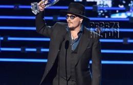Johnny Depp, 'Furious 7' thắng lớn tại lễ trao giải People's Choice Awards