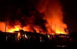 Cháy lớn ở thành phố Buôn Ma Thuột, Đắk Lắk