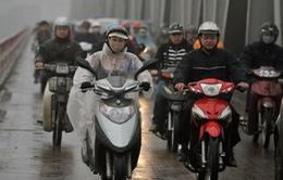 Thời tiết hôm nay: Khu vực Hà Nội có mưa, trời rét đậm rét hại