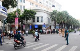 ĐỒ HỌA: Phân luồng phương tiện ở nhiều tuyến đường để phục vụ Đại hội Đảng XII