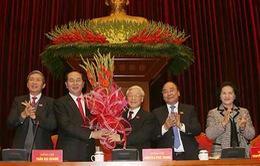 Đồng chí Nguyễn Phú Trọng được bầu làm Tổng Bí thư BCH Trung ương Đảng Cộng sản Việt Nam khoá XII