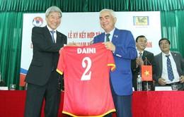 Lễ ký kết hợp tác giữa VFF và liên đoàn Bóng đá Nhật Bản