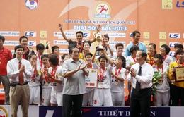 Giải Vô địch quốc gia – viên gạch đầu tiên để xây dựng nền móng bóng đá nữ Việt Nam