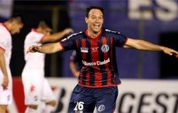 Lượt đi chung kết Copa Libertadores: Ghi bàn phút chót, Nacional Asuncion hòa kịch tính San Lorenzo