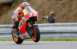 Marc Marquez đạt thành tích tốt nhất phân hạng GP Cộng Hòa Séc
