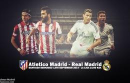Trước trận Derby thành Madrid: Liệu sân nhà có thể giúp được Real?