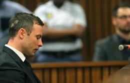 """""""Người không chân"""" Oscar Pistorius nhận mức án 5 năm tù"""