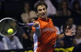 Paribas Masters, vòng 2: Fernando Verdasco giành tấm vé đầu tiên vào vòng 3