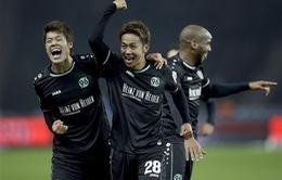 Hannover xuất sắc đánh bại Hertha Berlin trên sân khách