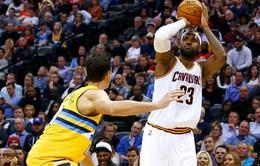 NBA: Cleveland Cavaliers dễ dàng đánh bại Denver Nuggets