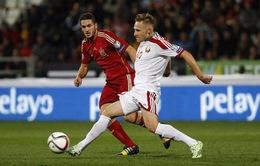 Bảng C, vòng loại Euro 2016: ĐKVĐ Tây Ban Nha tiếp tục bám đuổi Slovakia