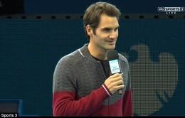 ATP World Tour Finals 2014 - Federer rút lui vì chấn thương, Nole giành cúp