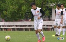 [VIDEO] Đội tuyển Việt Nam tập kín chuẩn bị cho AFF Cup