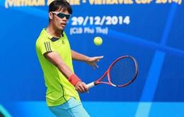 Giải quần vợt các cây vợt xuất sắc toàn quốc 2014: Các tay vợt trẻ vẫn chưa lớn
