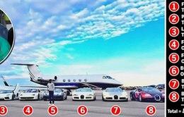 """""""Tay đấm triệu đô"""" Floyd Mayweather khoe bộ sưu tập xe hơi đắt giá"""