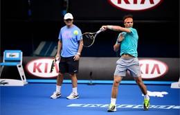 Tái hiện lại trận chung kết Australian Open 2014 trên sân tập