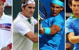 Nhóm Big Four tái lập sau chung kết Australian Open 2015