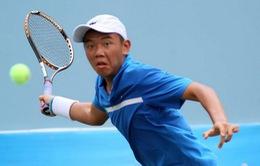 Hoàng Nam vào tứ kết giải quần vợt trẻ Malaysia