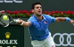Vượt qua Federer, Djokovic đăng quang Indian Wells 2015