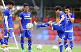 Vòng loại U23 châu Á: Tuyển Olympic Việt Nam nỗ lực tập luyện trước trận đánh lớn