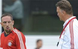 Nhân dịp sinh nhật, Ribery trải lòng về mâu thuẫn với Louis Van Gaal