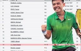 Nhảy vọt 18 bậc, Lý Hoàng Nam đi vào lịch sử quần vợt Việt Nam