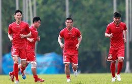 """Thầy trò HLV Kim Chang Bok """"đóng cửa luyện công"""" chuẩn bị cho trận giao hữu với ĐT Việt Nam"""