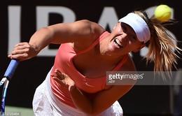 Ngược dòng ngoạn mục, Sharapova vô địch đơn nữ Rome Masters 2015