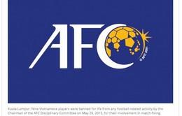 AFC cấm thi đấu vĩnh viễn 9 cầu thủ bán độ của V.Ninh Bình