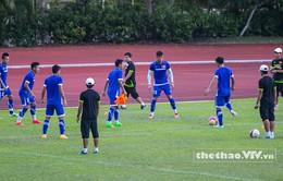 Trước trận gặp U23 Malaysia: Mạnh Hùng nhiều khả năng vắng mặt!