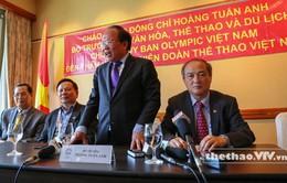 SEA Games 28: Bộ trưởng Hoàng Tuấn Anh thăm và động viên các VĐV Việt Nam tại Singapore