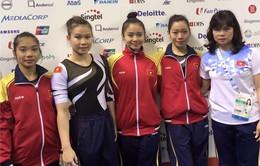 TDDC đồng đội nữ mất huy chương: HLV hài lòng về tinh thần toàn đội