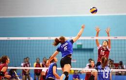 [KT] CK bóng chuyền nữ SEA Games: Việt Nam 0-3 Thái Lan (18/25, 18/25, 15/25)