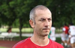 HLV Guillaume Graechen: Mục tiêu duy nhất của chúng tôi là chiến thắng