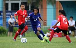 U14 châu Á 2015- khu vực Đông Nam Á: Thắng đậm U14 Lào, U14 Thái Lan tạm dẫn đầu bảng A
