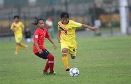 Giải U14 nữ Đông Nam Á: Đại thắng Lào, Myanmar giành vé vào bán kết